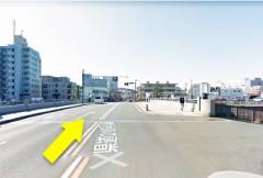 1.県道210号線を京急久里浜駅方面に向かってください。